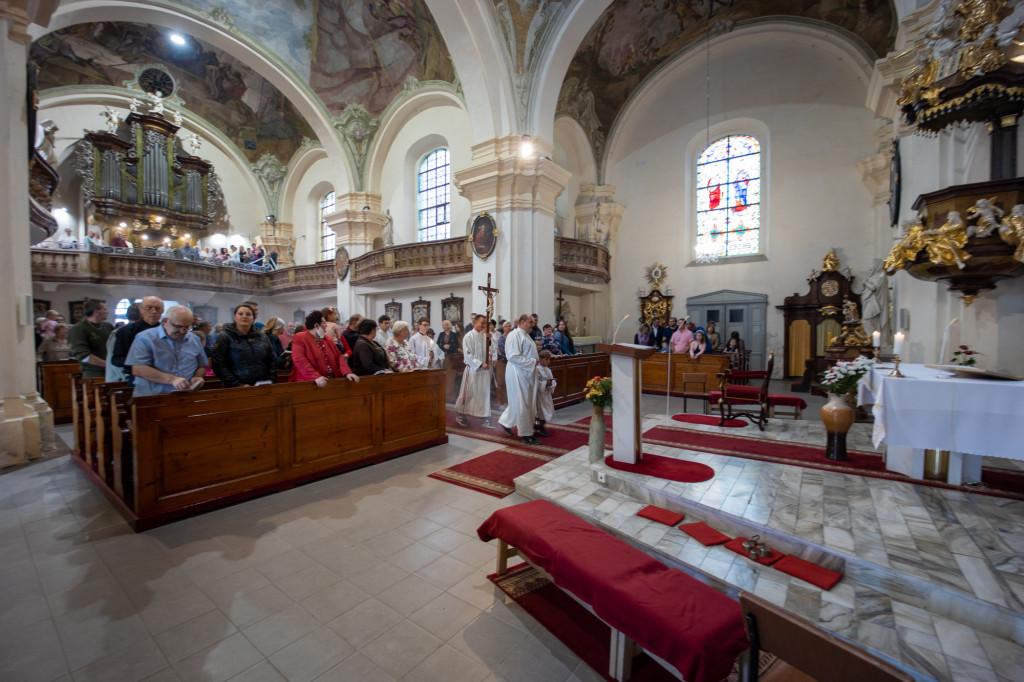 Poutní mše svatá v kostele sv. Bartoloměje